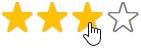 étoiles de notation explication utilisateur