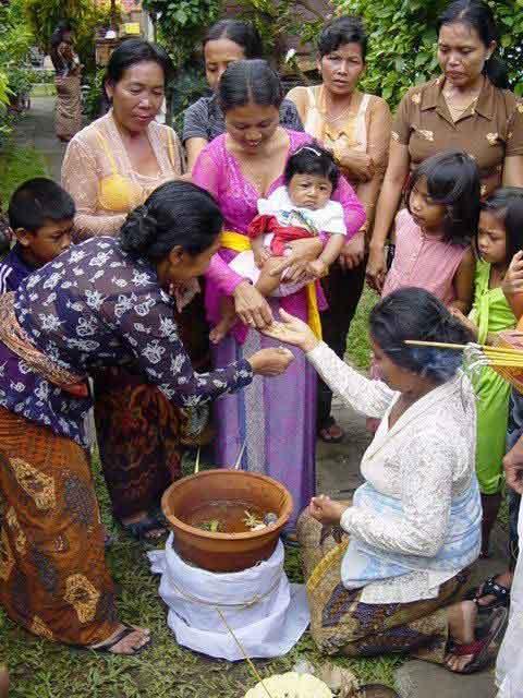 cérémonies enfants balinais