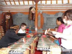 activité musicale avec enfants bali
