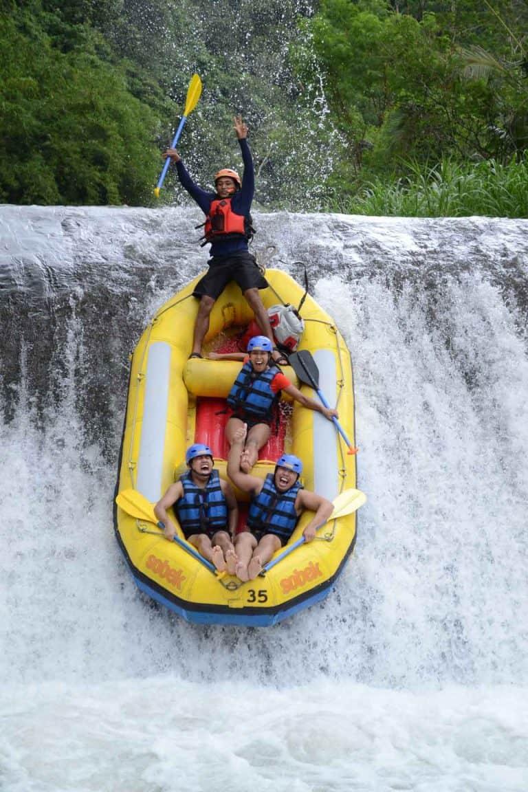 activites bali rafting ubud