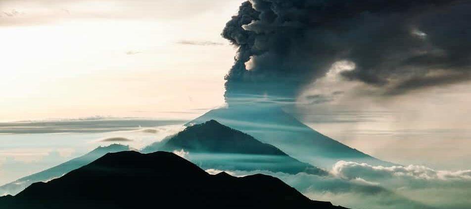 agung éruption bali