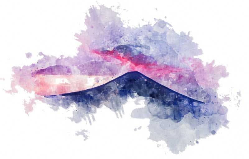 agung volcan