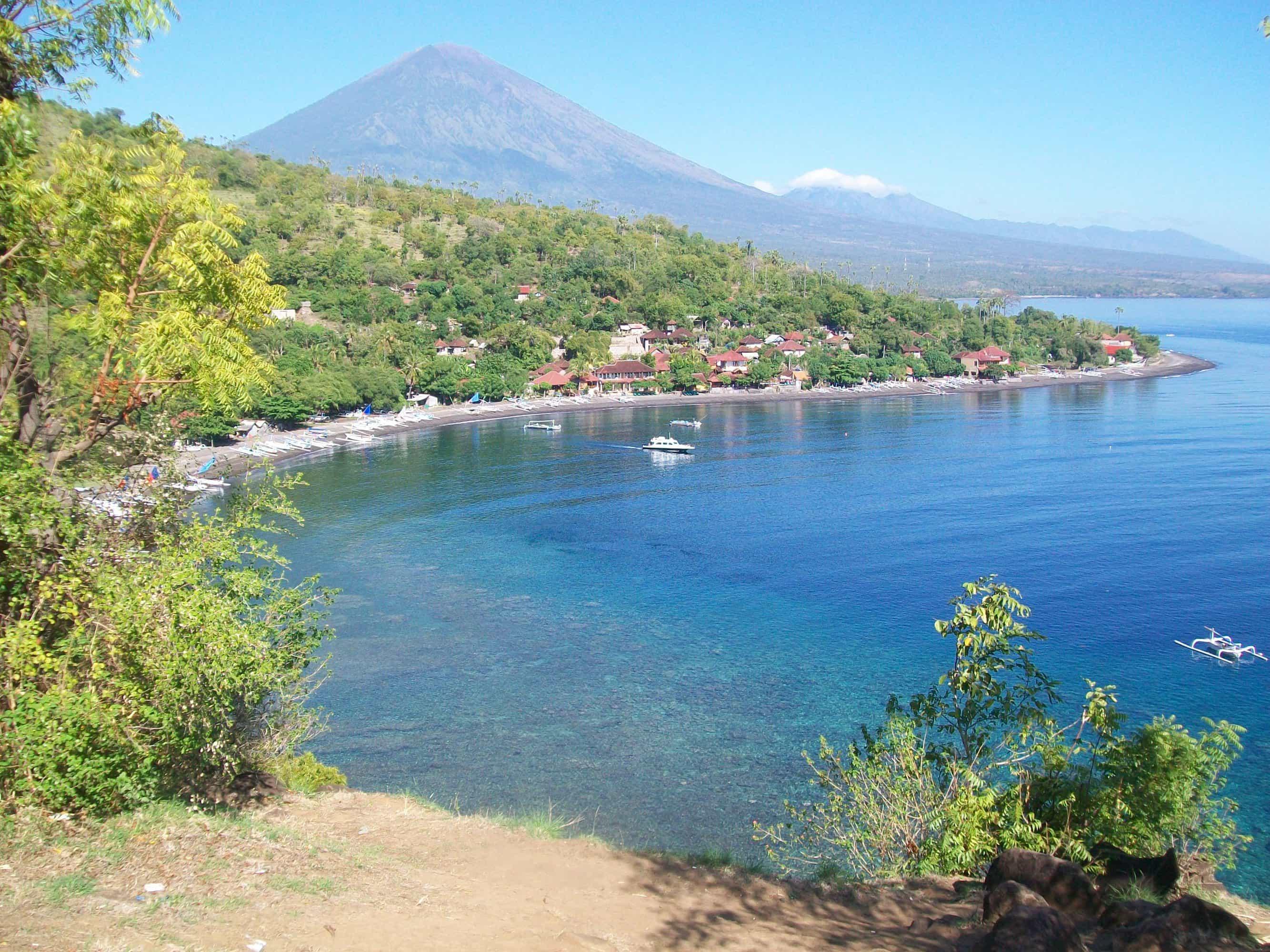 amed panorama indonésie plage