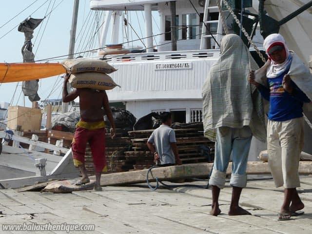 ancien port makassar sulawesi decouverte