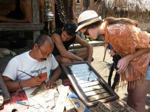 artisanat balinais voyage bali famille