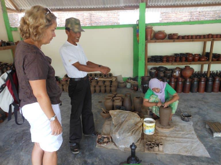 artisanat traditionnel indonésie poterie