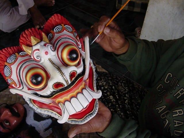 artiste bali indonesie pak nengah karsa peinture