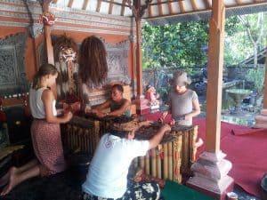 activités bali musique traditionnelle