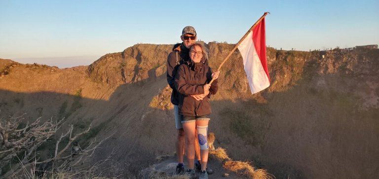 ascension volcan batur bali