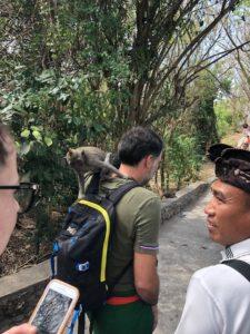 avec guide Made Bali Indonesie