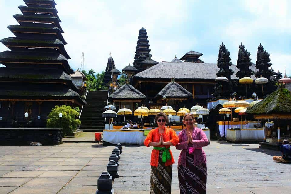 bali entre amis temple indonésien