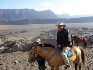 balade à cheval mont bromo indonésie