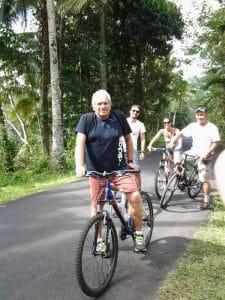 balade à vélos découverte île bali
