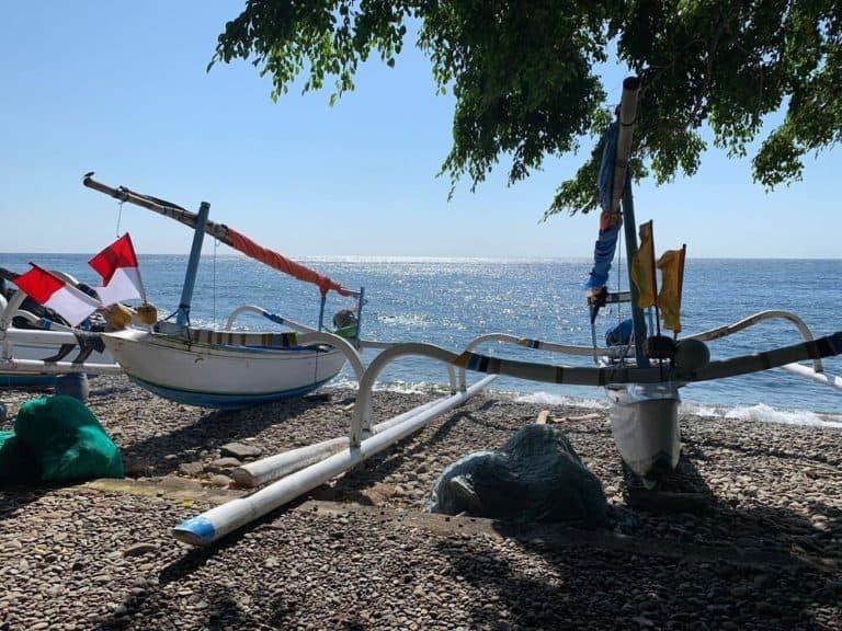 bali amed bateaux pecheurs