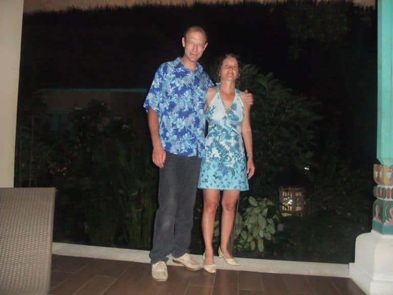 Bali Authentique client Corinne et André
