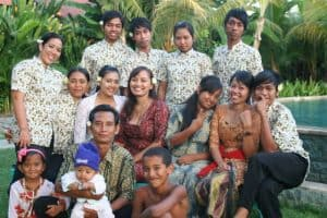 Bali Authentique client family