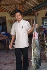 Bali Authentique client fisherman