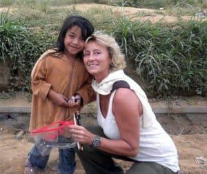 Bali Authentique client Nathalie enfant