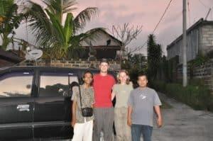 Bali Authentique guide Burhan client Rêve Grégory
