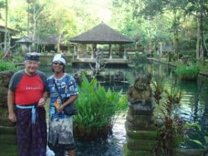 Bali Authentique Guide client Jacques tirtagangga karangasem