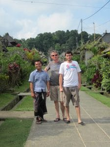 Bali Authentique guide client Jeff Maxime