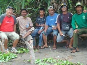 Bali Authentique guide family clent Jacques