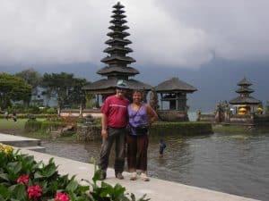 Bali Beratan lake temple Bali Authentique client Danielle Herve
