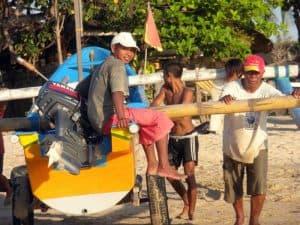 Bali bateau marins pêche Amed
