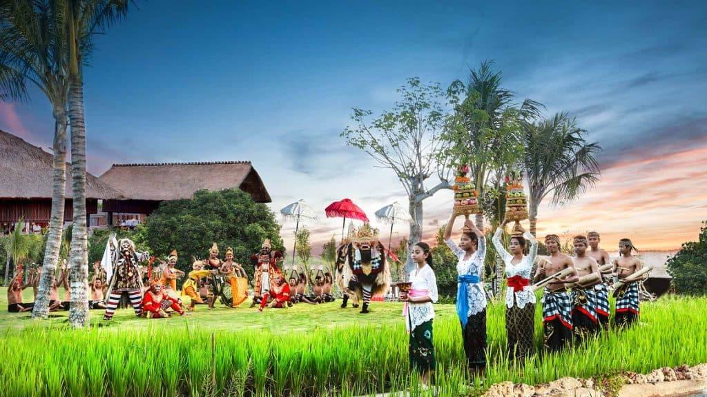 Bali ceremonie enfant