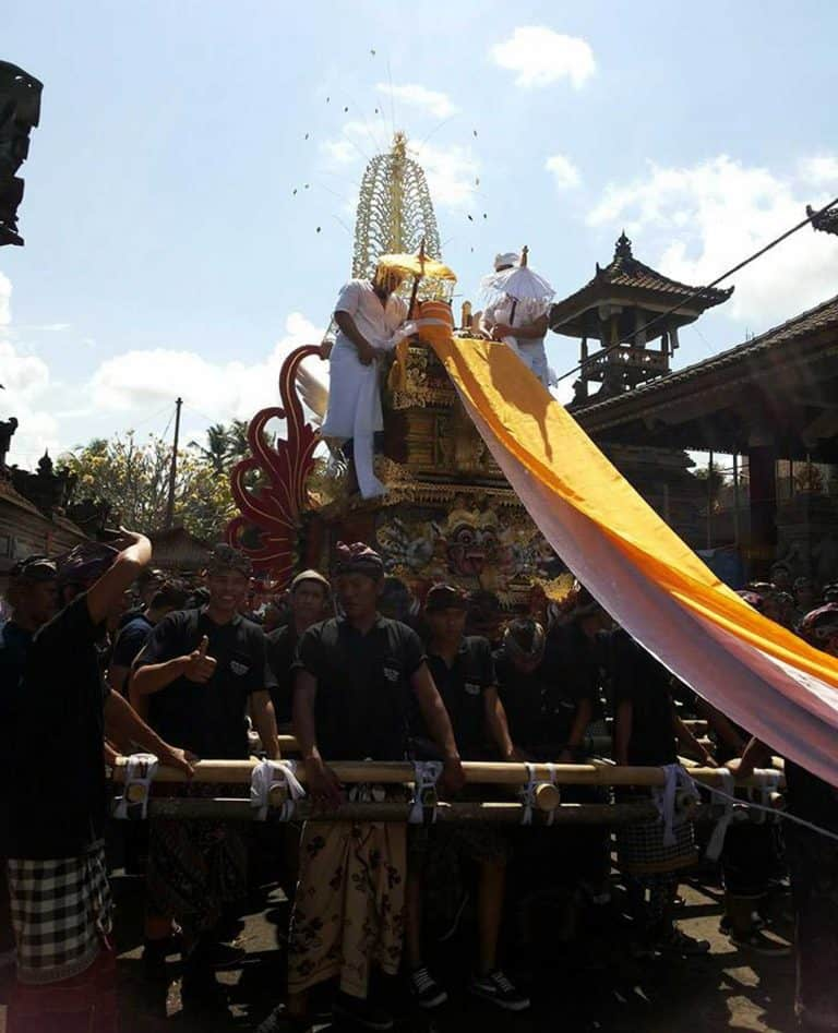 Bali Ceremony cremation place