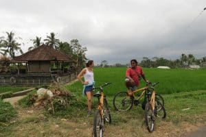 Bali cycling activity client Aux