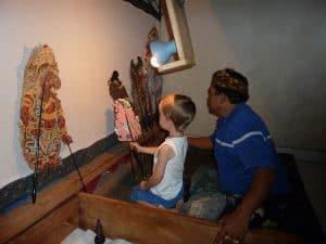 bali dalang marionnettes activité pour enfants