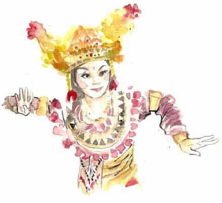 voyage Bali danseur