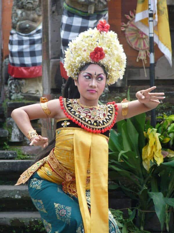 Bali danse Legong