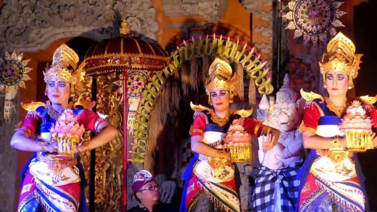Bali danses traditionnelles