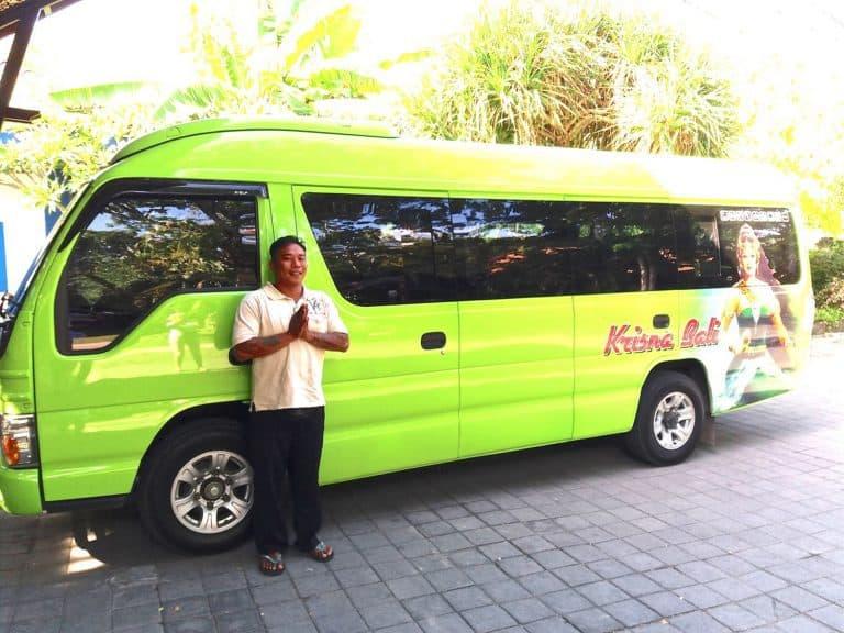 Bali driver Krisna Bali