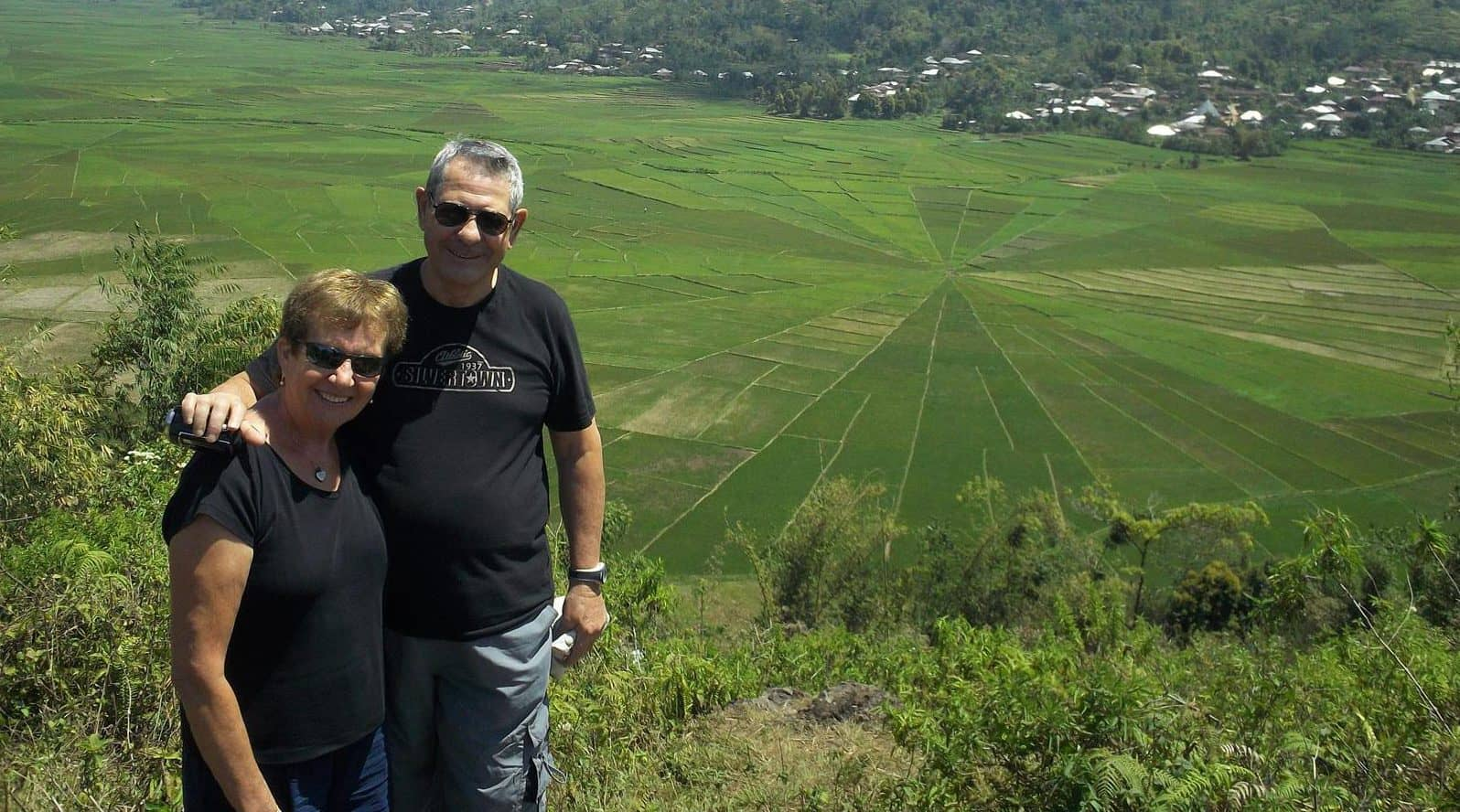 randonnée rizière bali indonésie