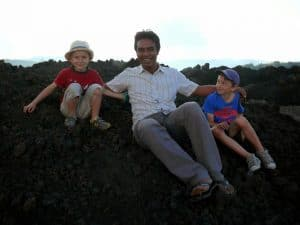 bali avec enfants vacances