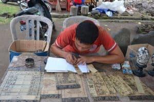 Bali artisanat