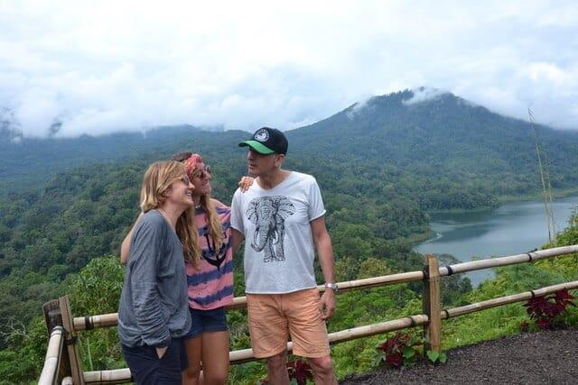 Bali en famille volcan Batur