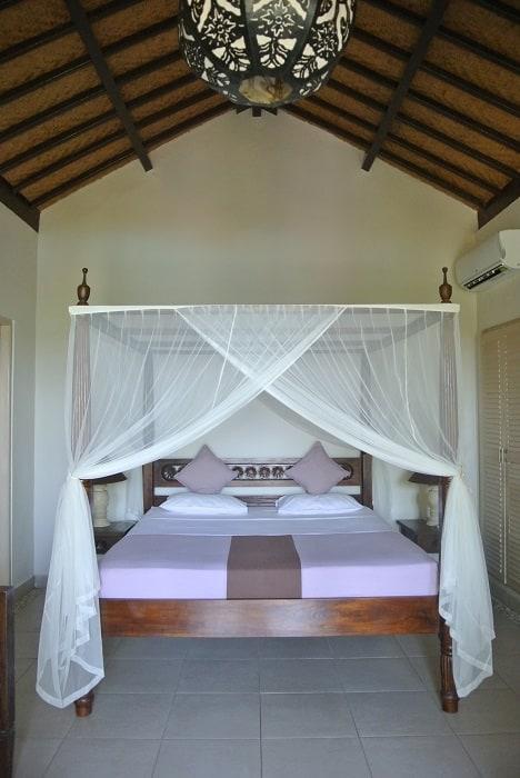 bali hotel amed chambre