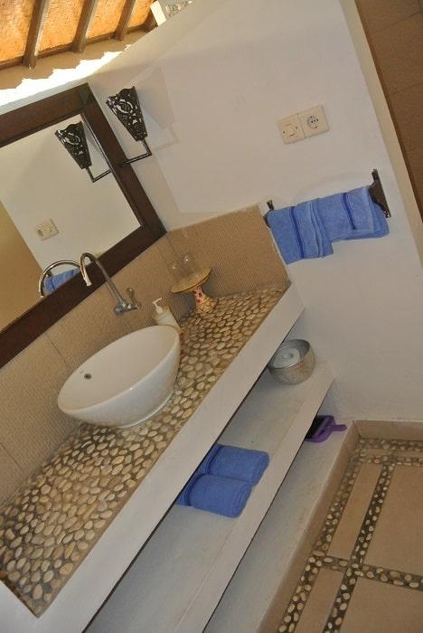 bali hotel amed salle de bain