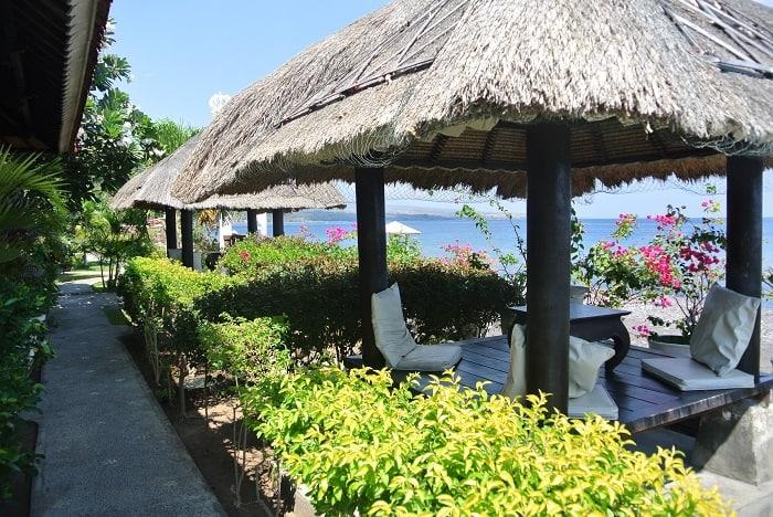bali hotel amed terrasse