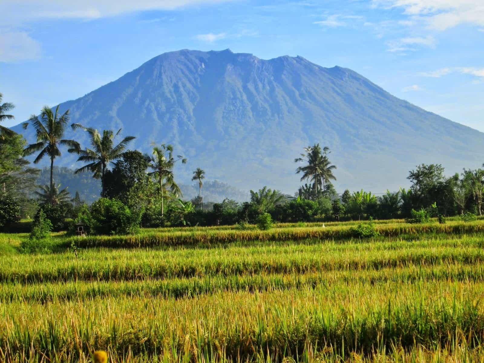 voyage bali volcan agung
