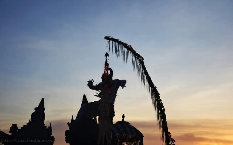 Bali kecak danse uluwatu