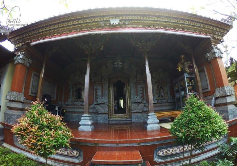 bali maison traditionnelle pavillon annexe