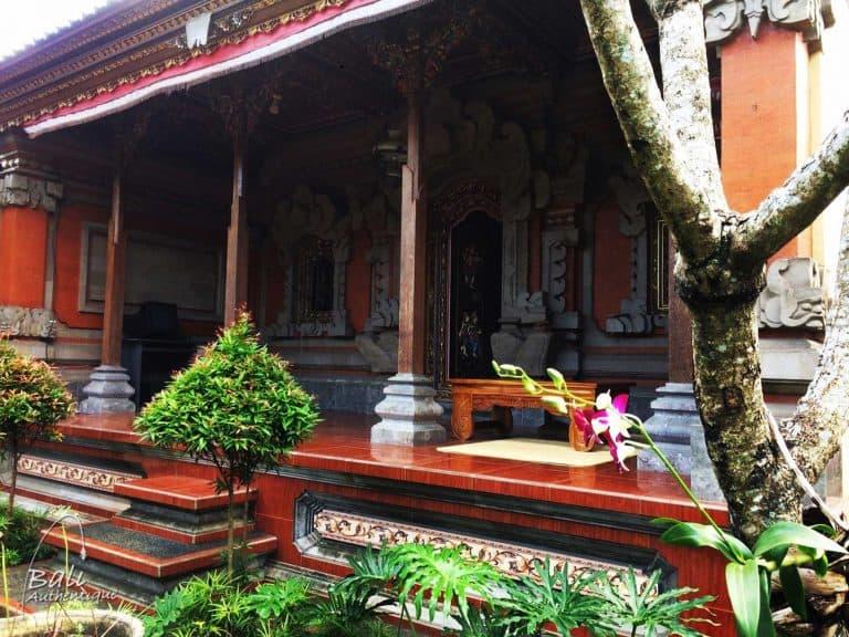 bali maison traditionnelle pavillon ferme