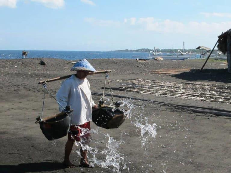 Bali porteur eau de mer