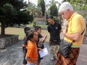Bali meet locals baliguide client Chevailer
