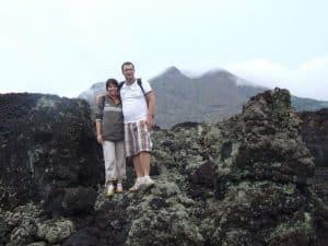 Bali mount batur volcano client Eric Bali Authentique